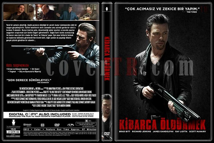 Killing Them Softly (Kibarca Öldürmek) - Custom Dvd Cover - Türkçe [2012]-covertr-dvdjpg