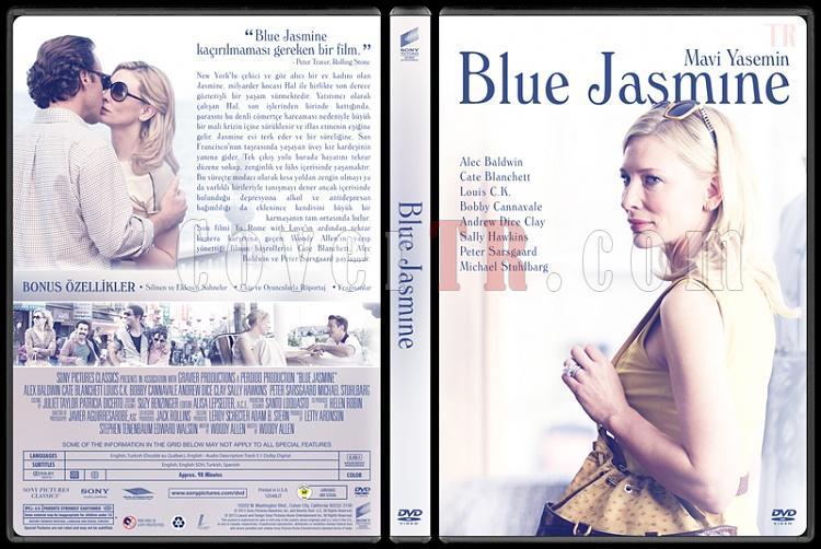 Blue Jasmine (Mavi Yasemin) - Custom Dvd Cover - Türkçe [2013]-dvdjpg