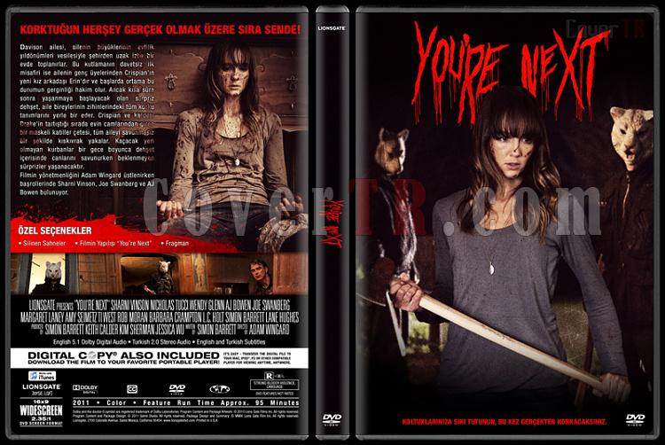 You're Next (Katliam Gecesi) - Custom Dvd Cover - Türkçe [2011]-dvdjpg