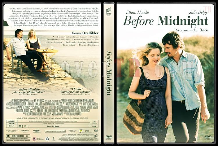Before Midnight Before Midnight  - Custom Dvd Cover - Türkçe [2013]-dvdjpg
