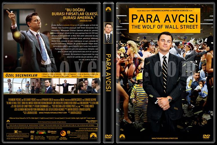 The Wolf of Wall Street (Para Avcısı) - Custom Dvd Cover - Türkçe [2013]-covertr-dvdjpg