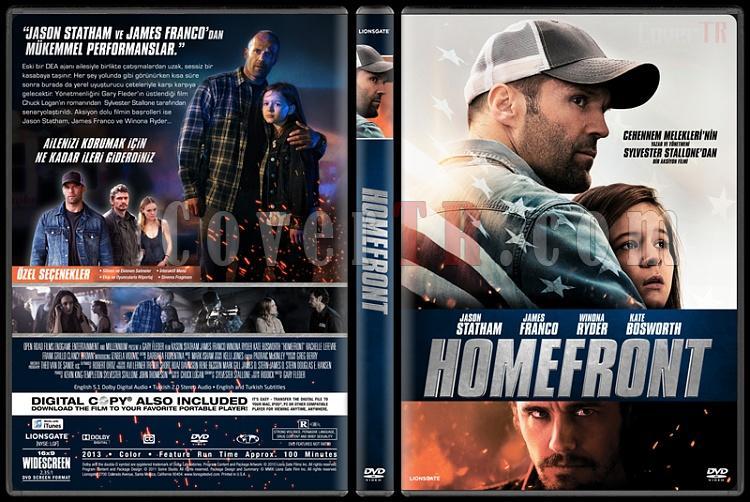Homefront - Custom Dvd Cover - Türkçe [2013]-covertr-dvdjpg