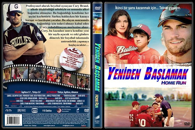 Home Run (Yeniden Başlamak) - Custom Dvd Cover - Türkçe [2013]-standardjpg