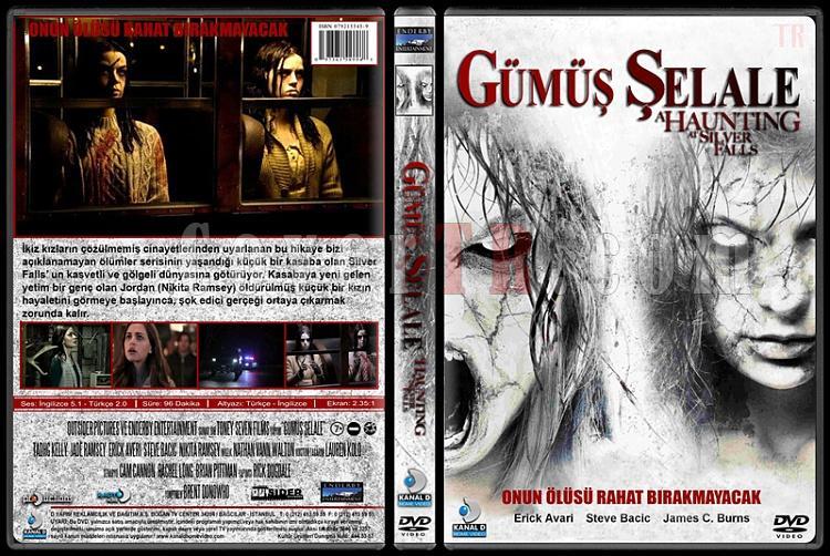 A Haunting At Silver Falls (Gümüş Şelale) - Custom Dvd Cover - Türkçe [2013]-haunting-silver-falls-gumus-selalejpg