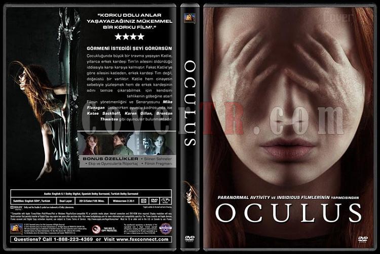 Oculus - Custom Dvd Cover - Türkçe [2013]-covertr-dvdjpg