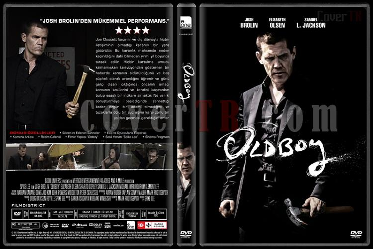 Oldboy - Custom Dvd Cover - Türkçe [2013]-covertr-dvdjpg