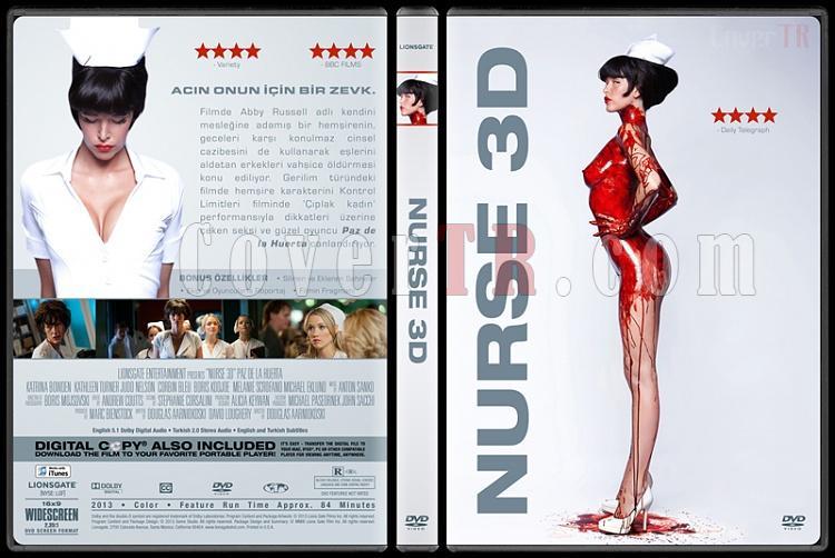 Nurse 3D - Custom Dvd Cover - Türkçe  [2013]-v2jpg