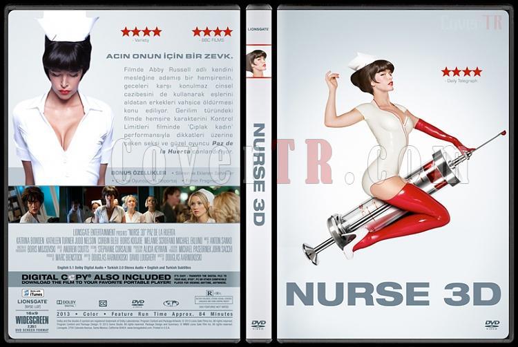 Nurse 3D - Custom Dvd Cover - Türkçe  [2013]-v1jpg