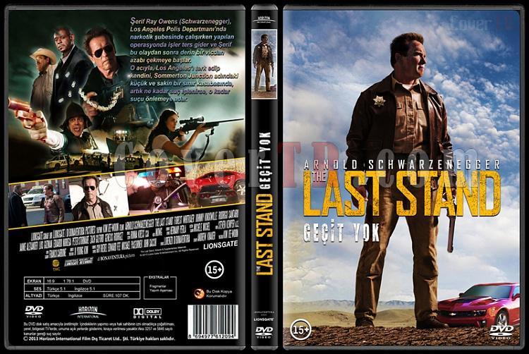 The Last Stand (Geçit Yok) - Custom Dvd Cover - Türkçe [2013]-standardjpg