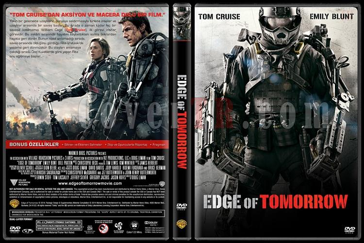 Edge of Tomorrow (Yarının Sınırında) - Custom Dvd Cover - Türkçe [2014]-edge-tomorrowjpg