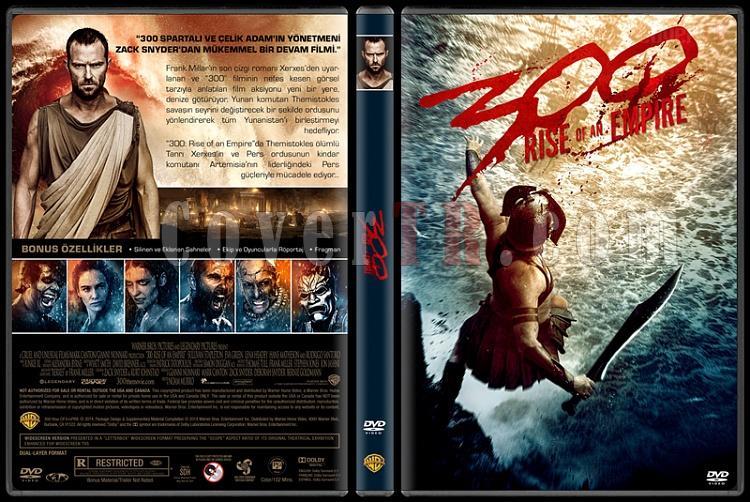300: Rise of an Empire  (300: Bir İmparatorluğun Yükselişi) - Custom Dvd Cover - Türkçe [2014]-300v1jpg