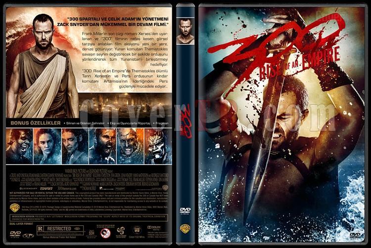 300: Rise of an Empire  (300: Bir İmparatorluğun Yükselişi) - Custom Dvd Cover - Türkçe [2014]-300v2jpg