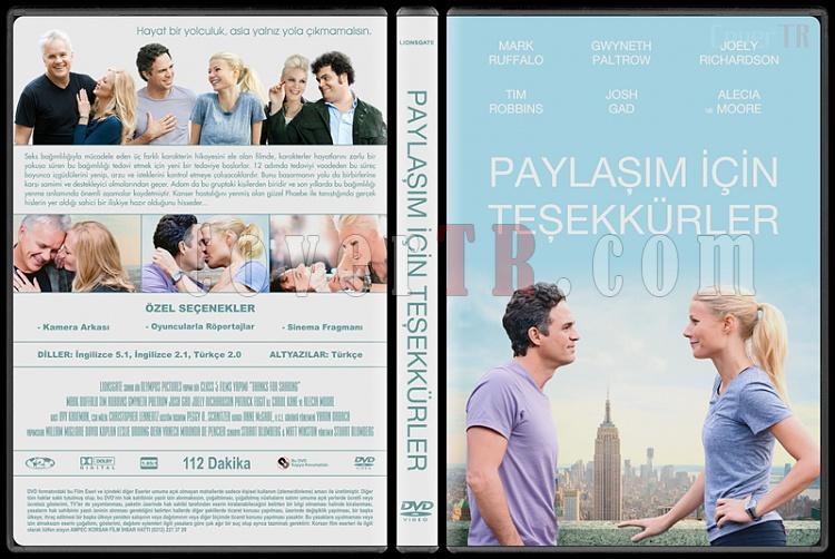 Thanks for Sharing (Paylaşım İçin Teşekkürler) - Custom Dvd Cover - Türkçe [2012]-thanks-sharing-paylasim-icin-tesekkurlerjpg