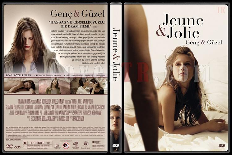 Jeune & Jolie (Genç & Güzel) - Custom Dvd Cover - Türkçe [2013]-covertr-dvdjpg