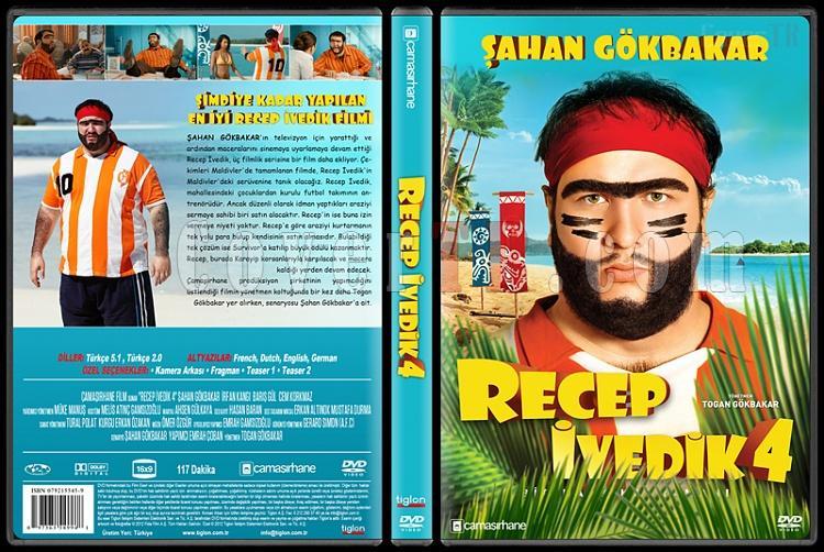 Recep İvedik 4 - Custom Dvd Cover - Türkçe [2014]-covertr-dvdjpg
