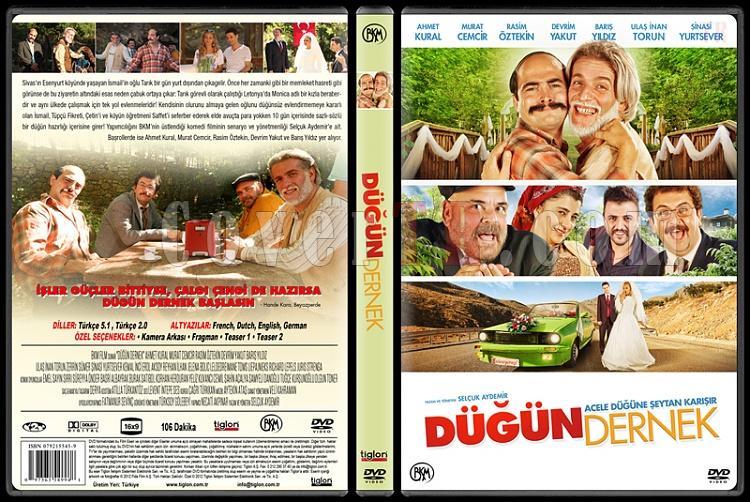 Düğün Dernek - Custom Dvd Cover - Türkçe [2013]-v2jpg