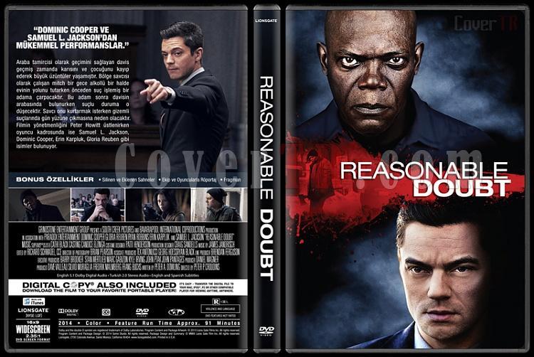 Reasonable Doubt - Custom Dvd Cover - Türkçe [2014]-covertr-dvdjpg
