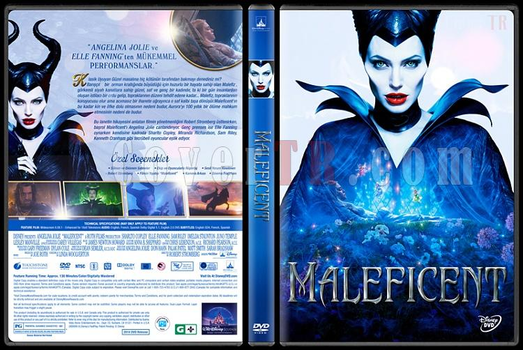 Maleficent (Malefiz) - Custom Dvd Cover - Türkçe [2014]-1jpg