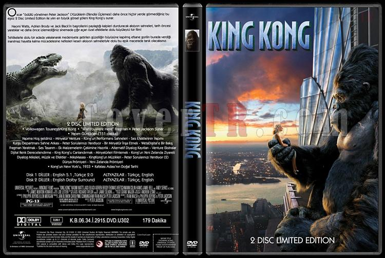 King Kong - Custom Dvd Cover - Türkçe [2005]-king-kongjpg