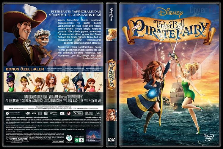 The Pirate Fairy (Tinker Bell ve Korsan Peri) - Custom Dvd Cover - Türkçe [2014]-covertr-dvdjpg