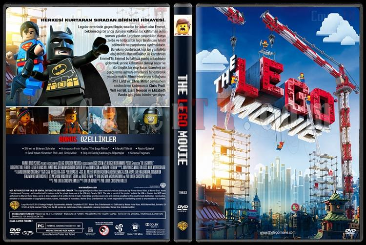The Lego Movie (Lego Filmi) Custom Dvd Cover - Türkçe [2014]-v2jpg