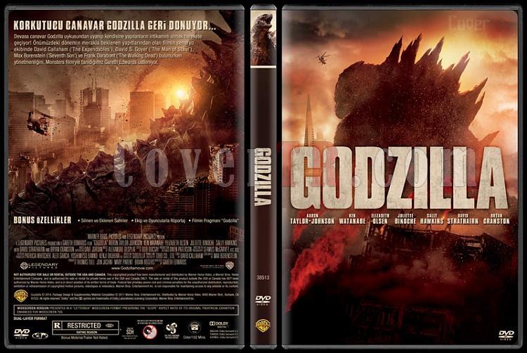 Godzilla - Custom Dvd Cover - Türkçe [2014]-v3jpg