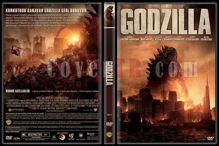 Godzilla - Custom Dvd Cover - Türkçe [2014]-v1jpg