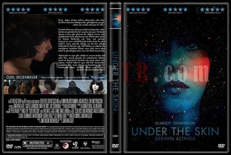 Under the Skin (Derinin Altında) - Custom Dvd Cover - Türkçe [2013]-under-skinjpg