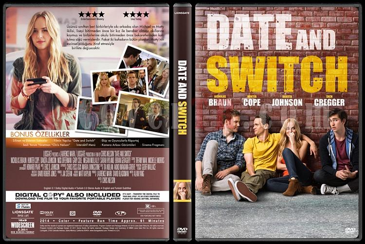 Date and Switch - Custom Dvd Cover - Türkçe [2014]-covertr-dvdjpg