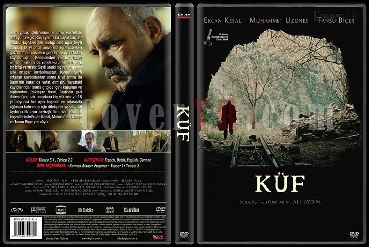 Küf - Custom Dvd Cover - Türkçe [2012]-covertr-dvdjpg