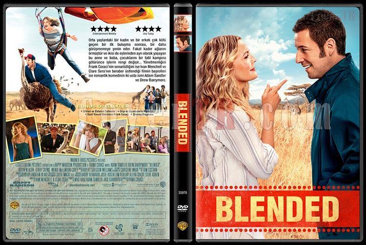 Blended - Custom Dvd Cover - Türkçe [2014]-covertr-dvdjpg