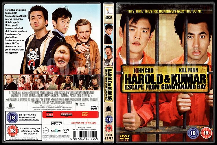 Harold & Kumar Escape from Guantanamo Bay - Custom Dvd Cover - Türkçe [2008]-haroldkumarjpg