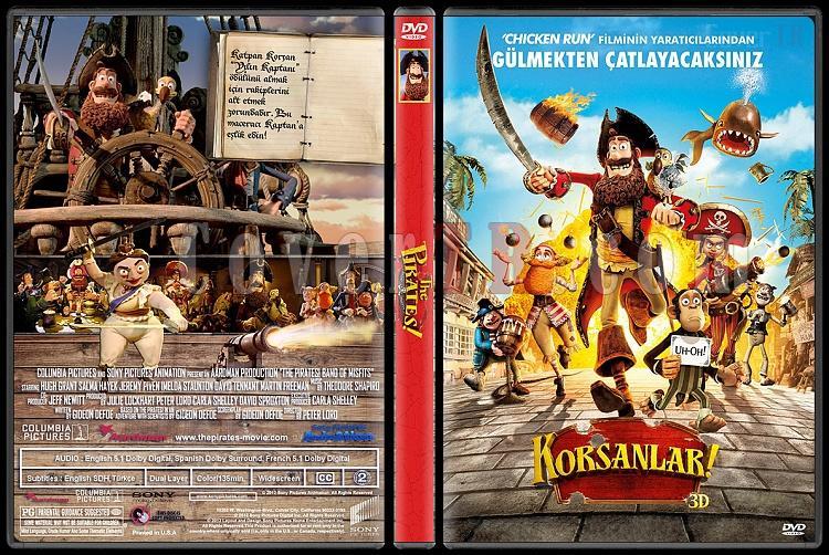 The Pirates! Band of Misfits (Korsanlar) - Custom Dvd Cover - Türkçe [2012]-korsanlarturkcedvdcoveerjpg