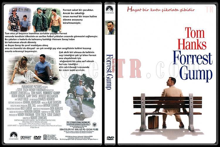 Forrest Gump - Custom Dvd Cover - Türkçe [1994]-forrest-gump-turkcejpg