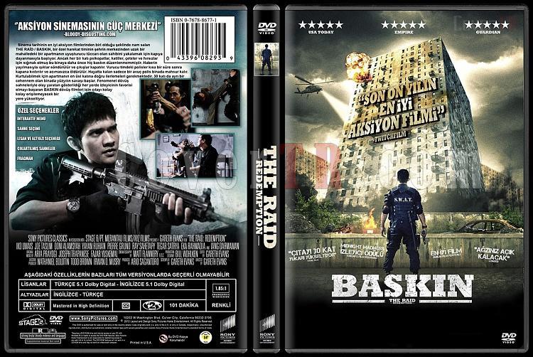 The Raid: Redemption (Baskın) - Custom Dvd Cover - Türkçe [2011]-baskin-the_raid__redemptionjpg
