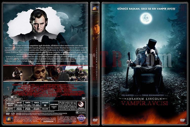 Abraham Lincoln: Vampire Hunter (Abraham Lincoln:Vampir Avcısı) - Custom Dvd Cover - Türkçe [2012]-abraham-lincoln-vampir-avcisi-dvd-cover-turkcejpg