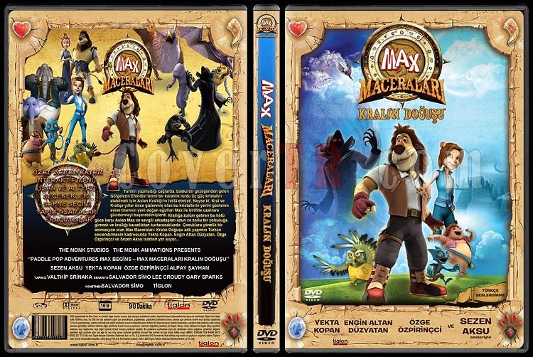 Paddle Pop adventures (Max Maceraları Kralın Doğuşu) - Custom Dvd Cover - Türkçe [2011]-max-maceralari-kralin-dogusu-turkce-dvd-coverjpg