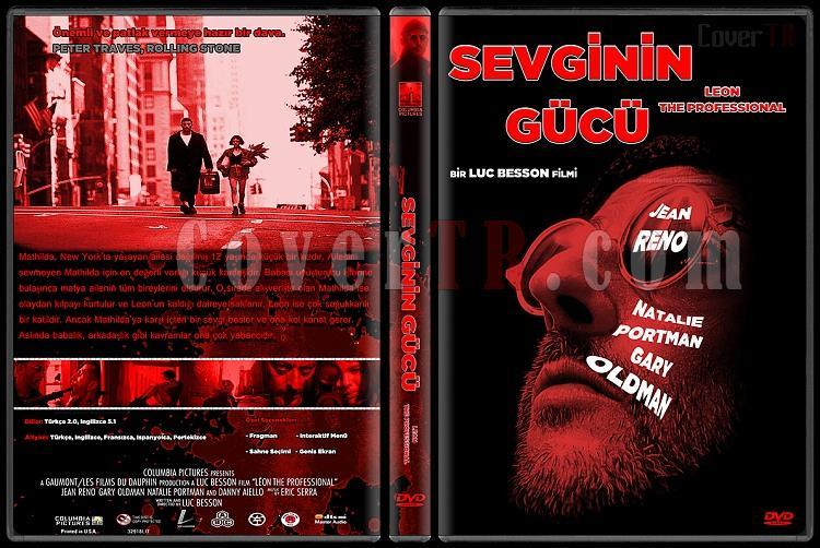 Leon: The Professsional (Sevginin Gücü) - Custom Dvd Cover - Türkçe [1994]-sevginin-gucu-dvd-cover-turkcejpg