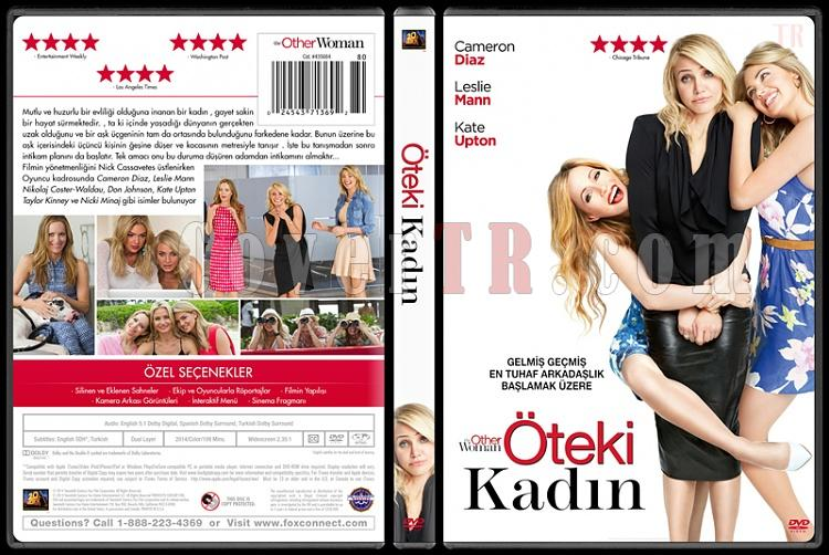 The Other Woman (Öteki Kadın) - Custom Dvd Cover - Türkçe [2014]-dvdjpg