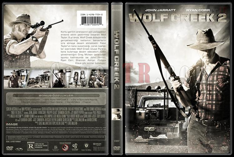 Wolf of Creek 2 (Kurt Kapanı 2) - Custom Dvd Cover - Türkçe [2013]-covertr-dvdjpg