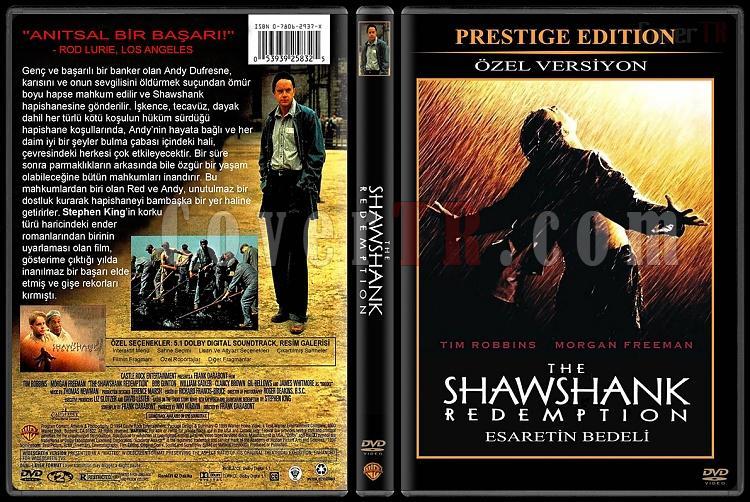 The Shawshank Redemption (Esaretin Bedeli) - Custom Dvd Cover - Türkçe [1994]-shawshank-redemption-esaretin-bedeli-turkce-dvd-coverjpg
