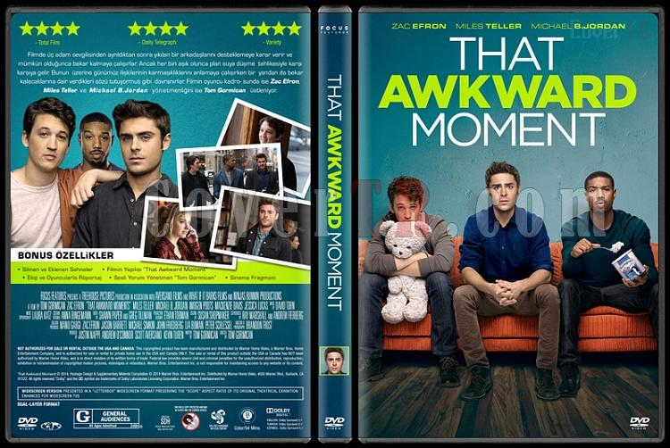 That Awkward Moment - Custom Dvd Cover - Türkçe [2014]-covertr-dvdjpg