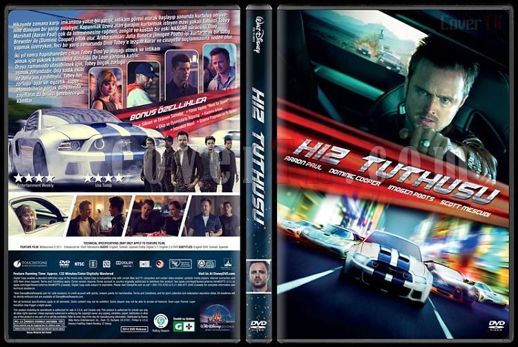 Need For Speed (Hız Tutkusu) - Custom Dvd Cover - Türkçe [2014]-v1jpg