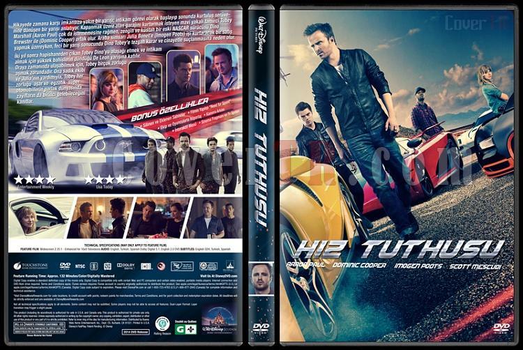 Need For Speed (Hız Tutkusu) - Custom Dvd Cover - Türkçe [2014]-v2jpg
