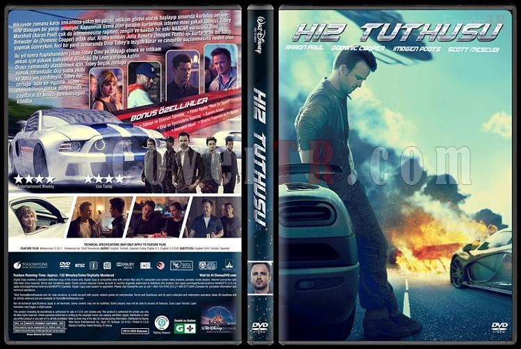 Need For Speed (Hız Tutkusu) - Custom Dvd Cover - Türkçe [2014]-v3jpg