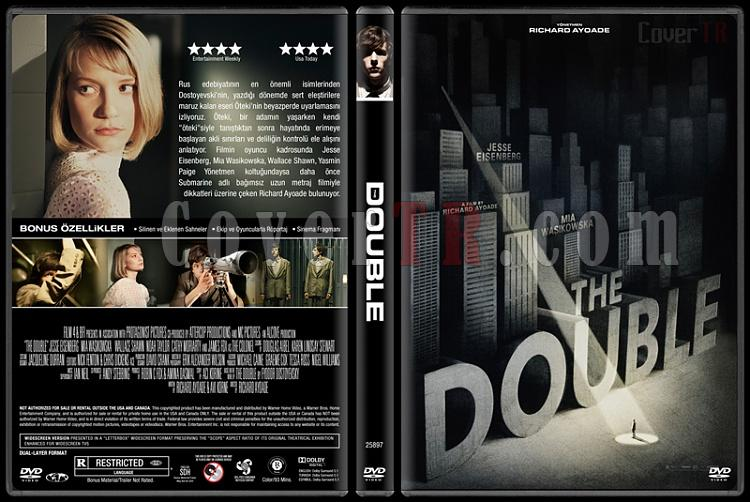 The Double (Öteki) - Custom Dvd Cover - Türkçe [2013]-double-v2-izlemejpg