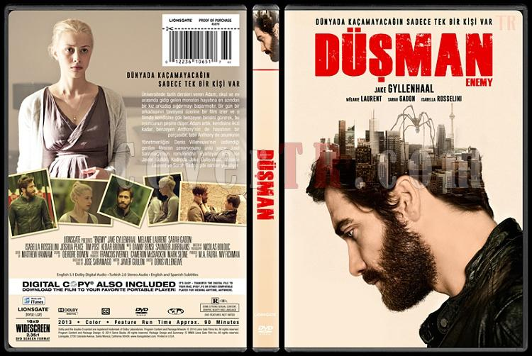 Enemy (Düşman) - Custom Dvd Cover - Türkçe [2013]-covertr-dvdjpg