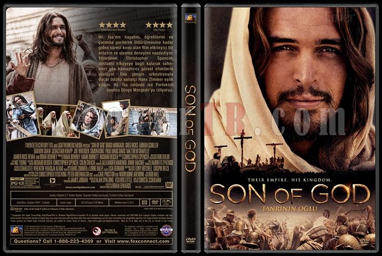 Son of God (Tanrının Oğlu) - Custom Dvd Cover - Türkçe [2014]-covertr-dvdjpg
