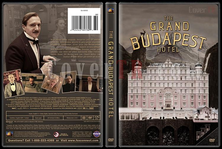 The Grand Budapest Hotel (Büyük Budapeşte Oteli) - Custom Dvd Cover - Türkçe [2014]-covertr-dvdjpg