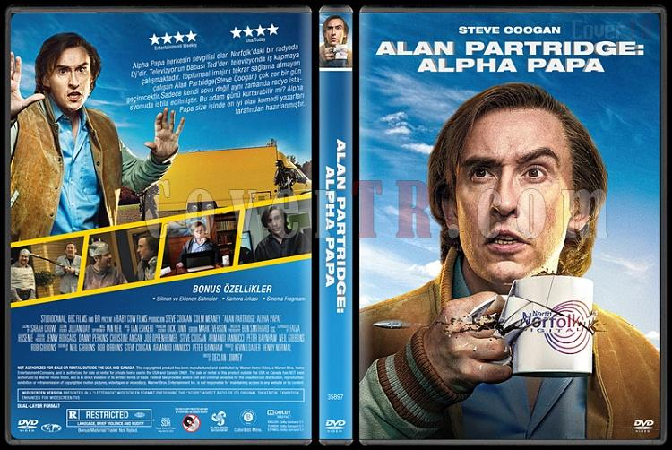 Alan Partridge: Alpha Papa - Custom Dvd Cover - Türkçe [2014]-covertr-dvdjpg